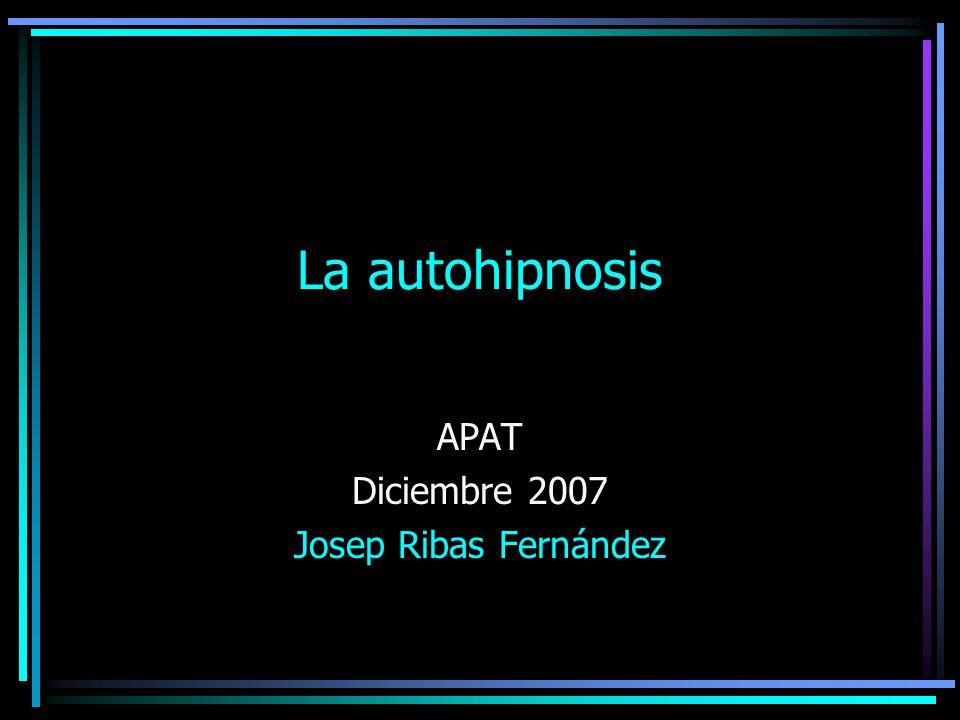 APAT Diciembre 2007 Josep Ribas Fernández