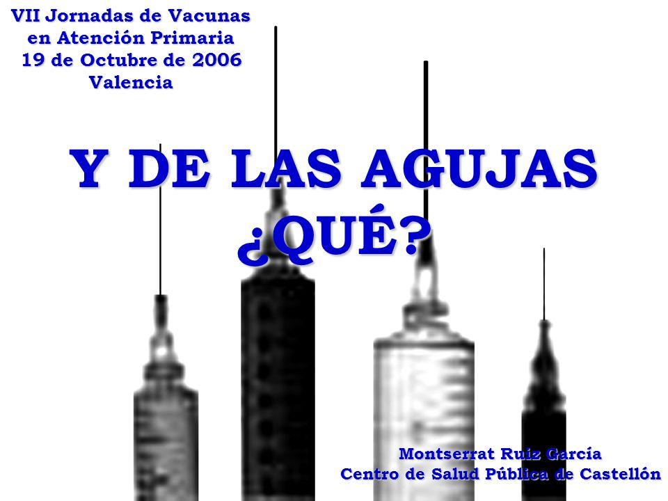 Montserrat Ruiz García Centro de Salud Pública de Castellón