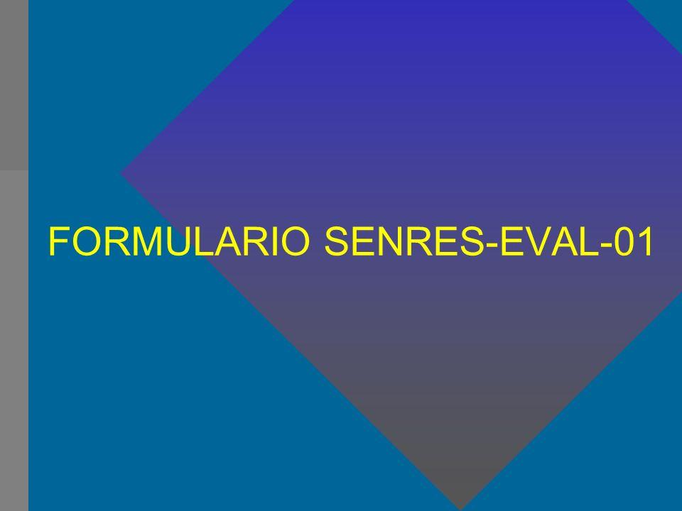FORMULARIO SENRES-EVAL-01