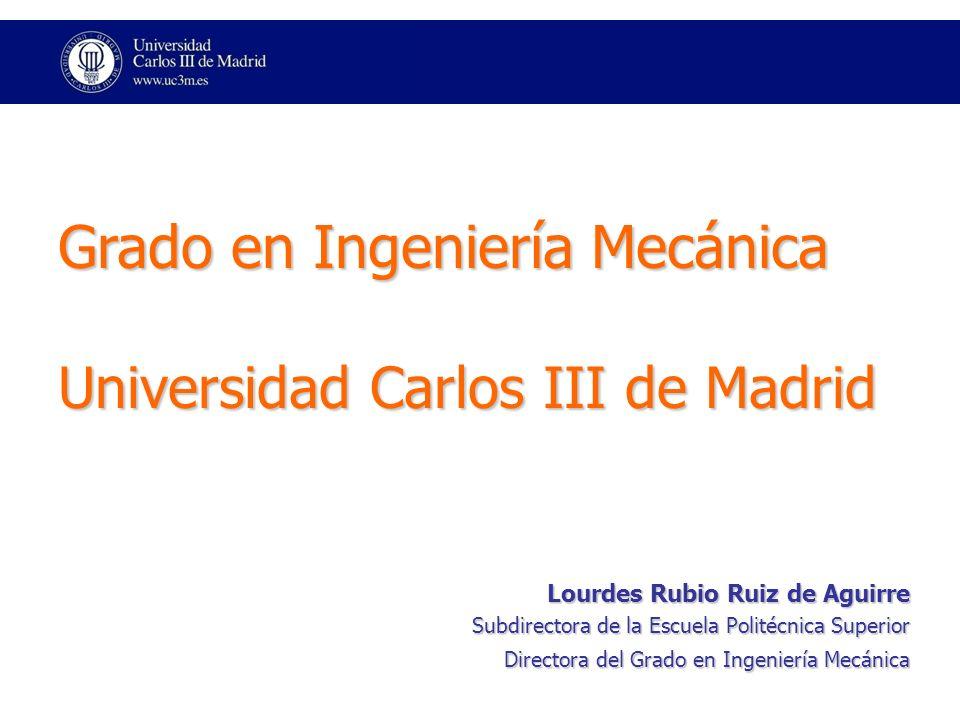 Grado en Ingeniería Mecánica Universidad Carlos III de Madrid