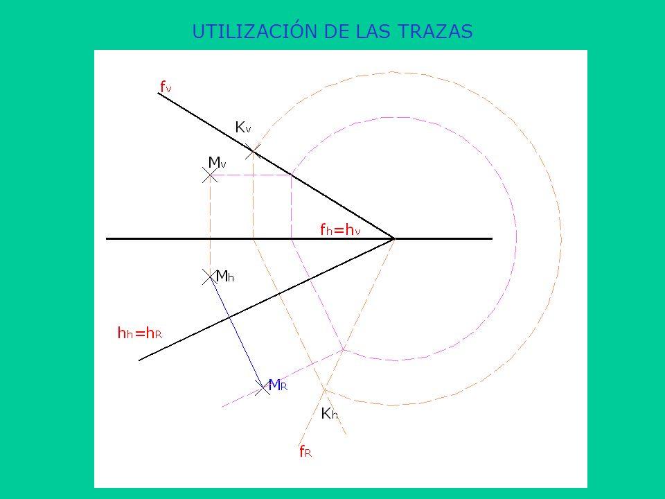 UTILIZACIÓN DE LAS TRAZAS