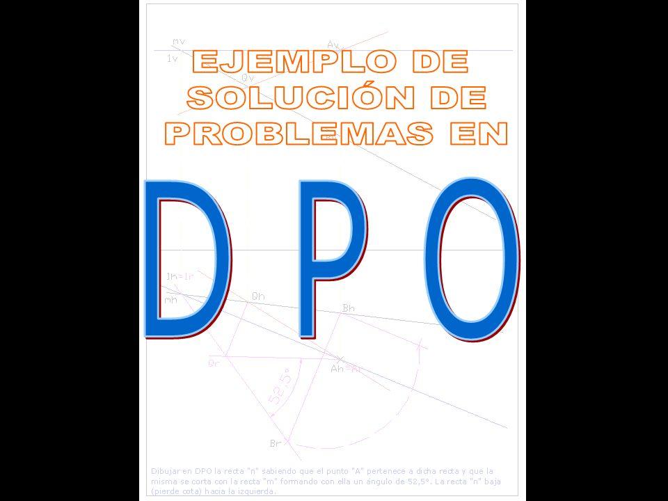 EJEMPLO DE SOLUCIÓN DE PROBLEMAS EN D P O