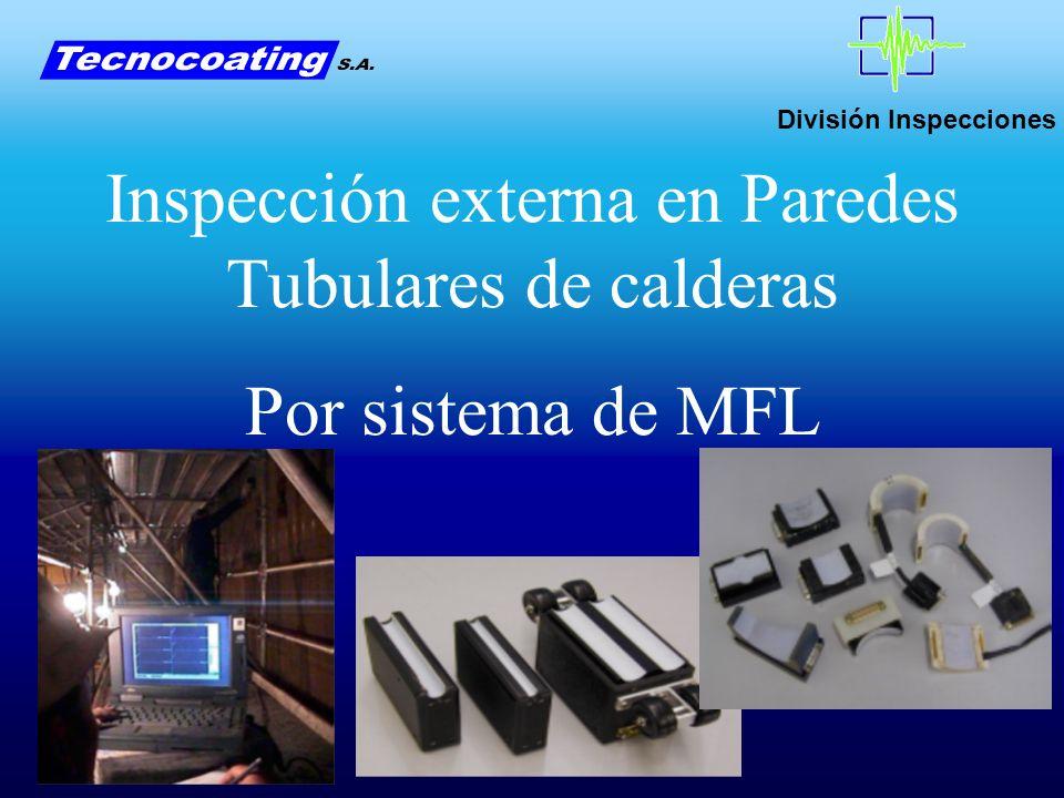 Inspección externa en Paredes Tubulares de calderas