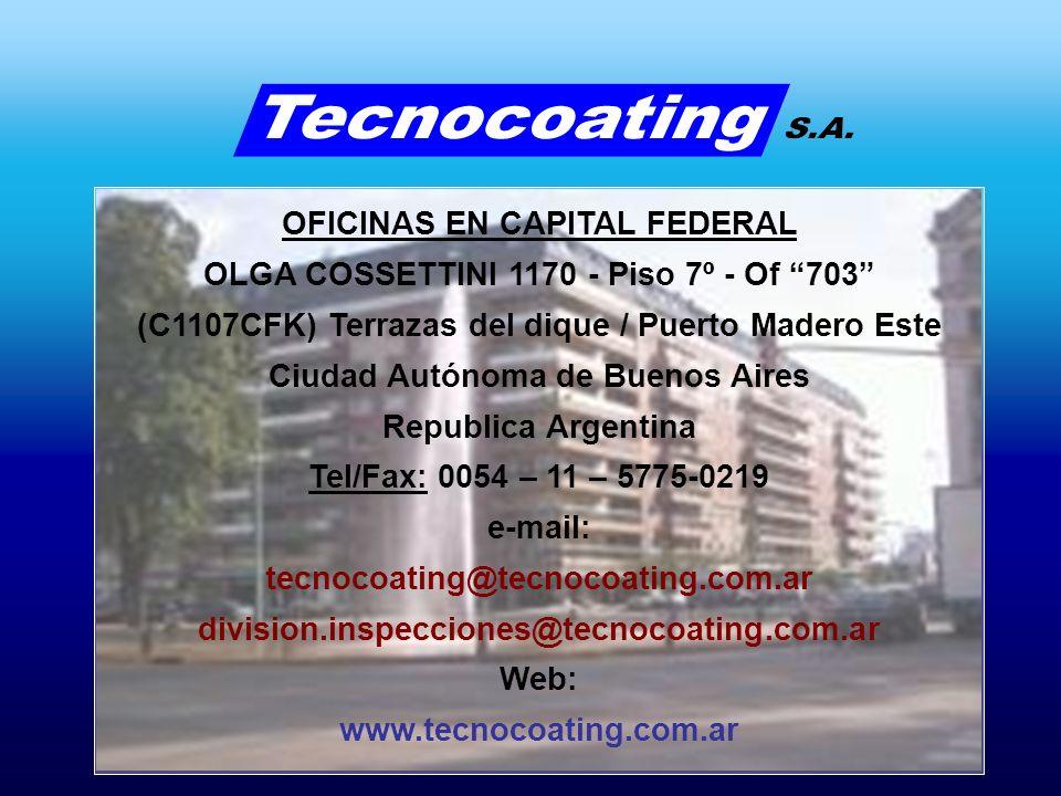 OFICINAS EN CAPITAL FEDERAL OLGA COSSETTINI 1170 - Piso 7º - Of 703