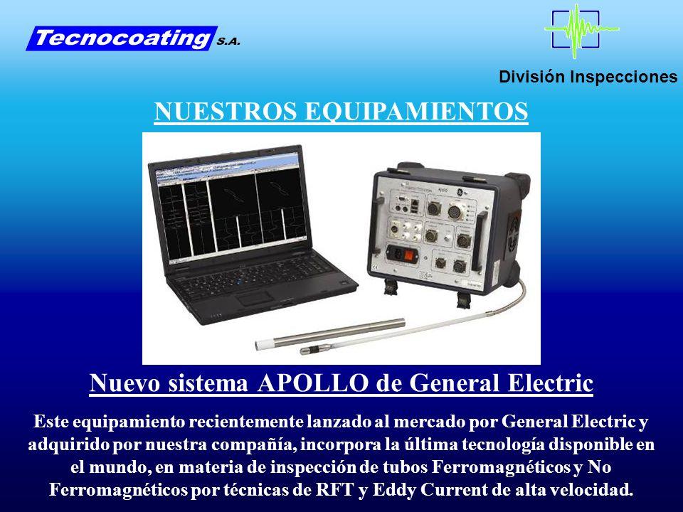 NUESTROS EQUIPAMIENTOS Nuevo sistema APOLLO de General Electric