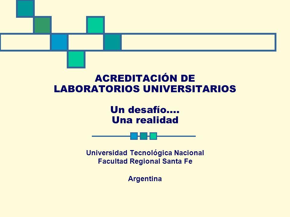 Universidad Tecnológica Nacional Facultad Regional Santa Fe Argentina