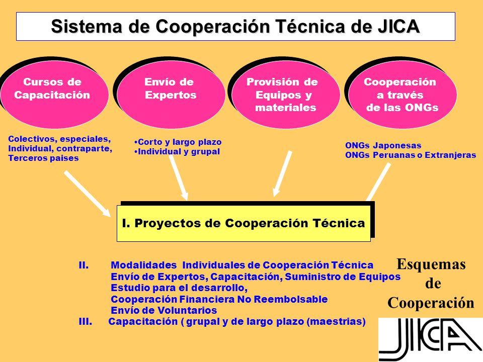 Sistema de Cooperación Técnica de JICA