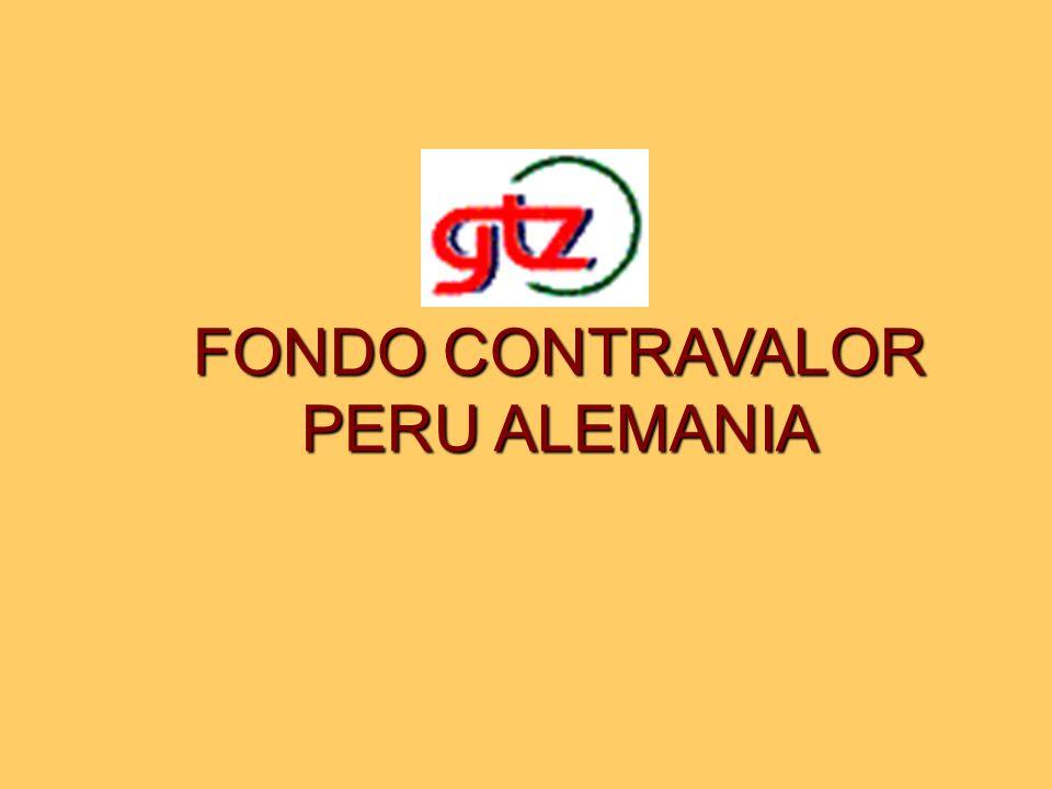 FONDO CONTRAVALOR PERU ALEMANIA