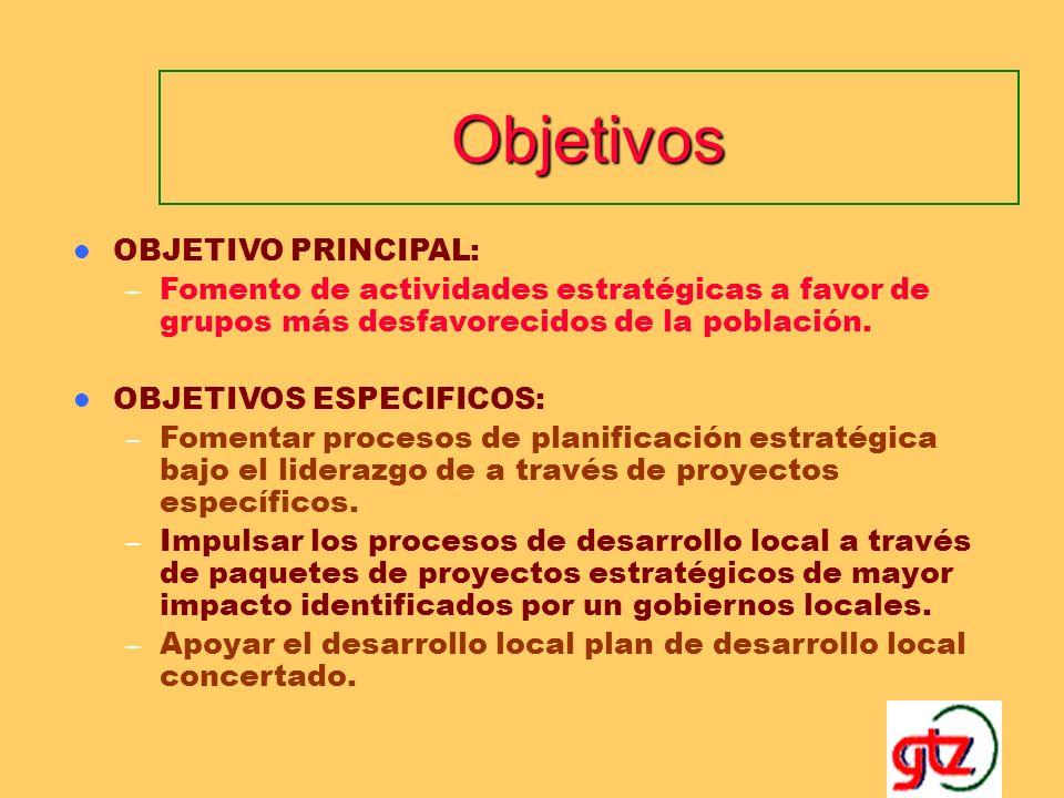 Objetivos OBJETIVO PRINCIPAL: