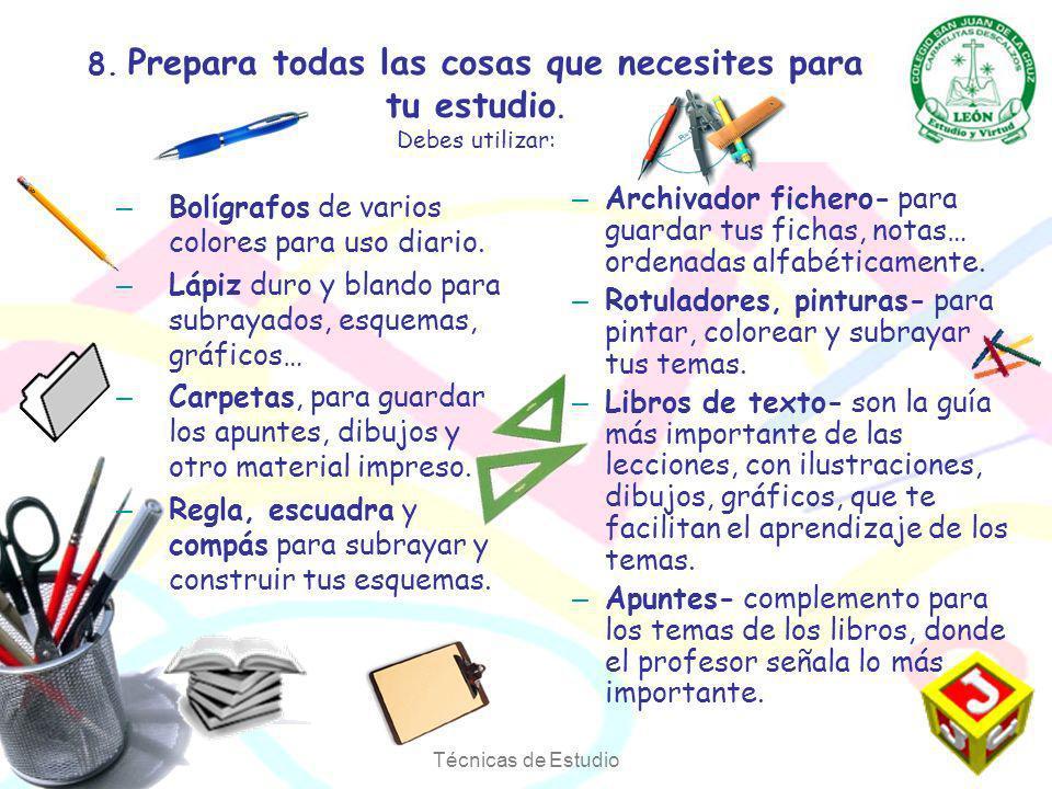 Bolígrafos de varios colores para uso diario.