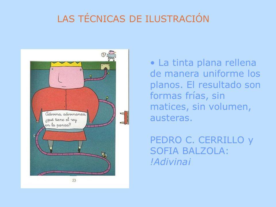 LAS TÉCNICAS DE ILUSTRACIÓN