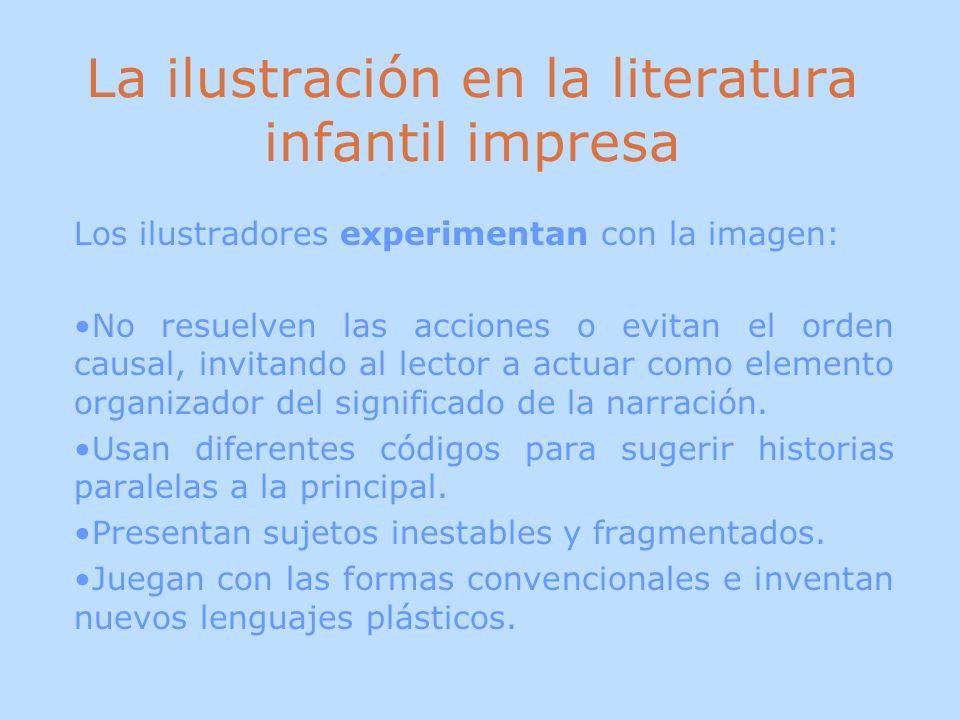 La ilustración en la literatura infantil impresa