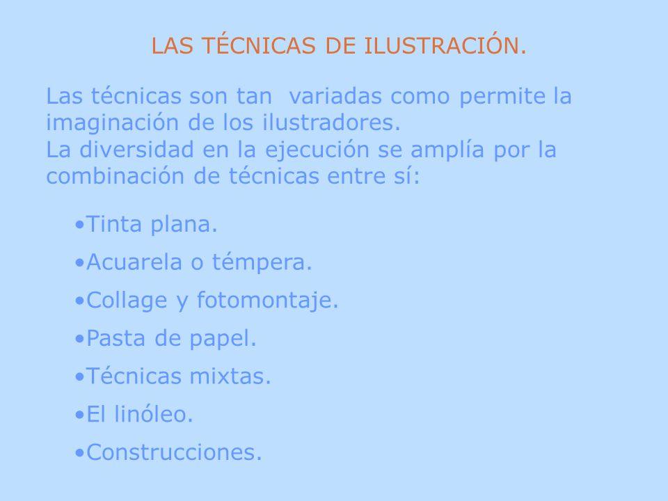 LAS TÉCNICAS DE ILUSTRACIÓN.