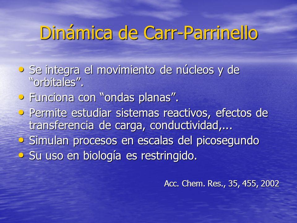 Dinámica de Carr-Parrinello