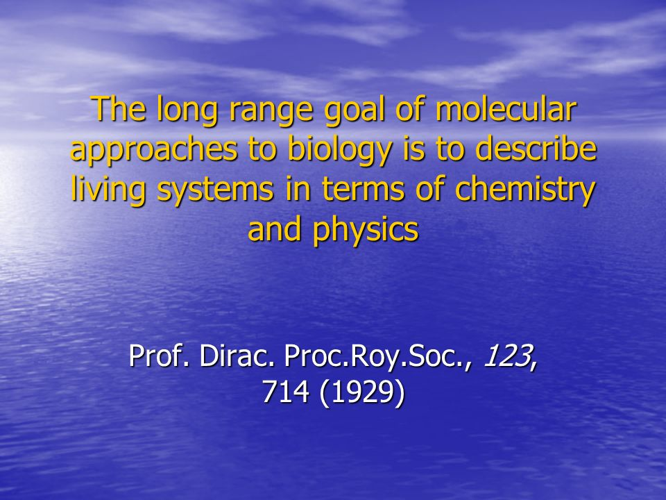Prof. Dirac. Proc.Roy.Soc., 123, 714 (1929)