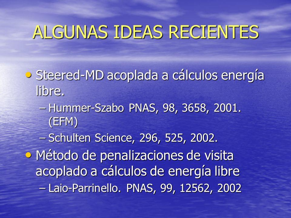 ALGUNAS IDEAS RECIENTES