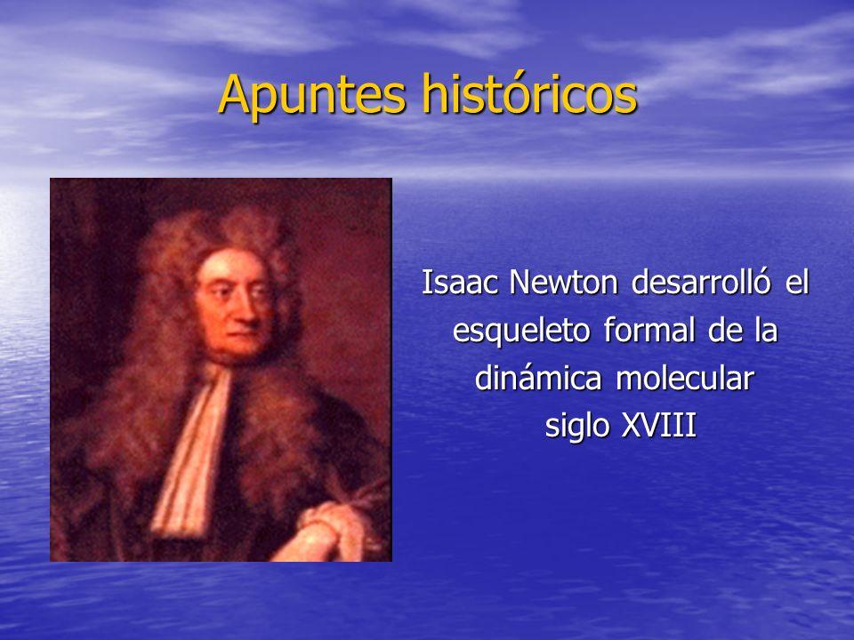 Isaac Newton desarrolló el