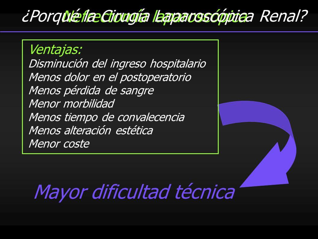 Nefrectomía laparoscópica