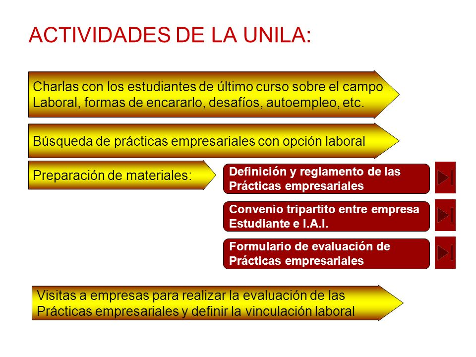 ACTIVIDADES DE LA UNILA: