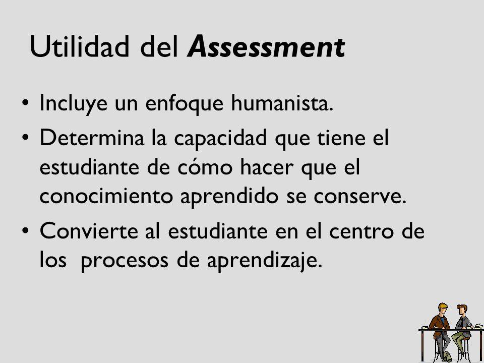 Utilidad del Assessment