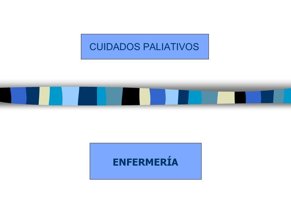CUIDADOS PALIATIVOS ENFERMERÍA