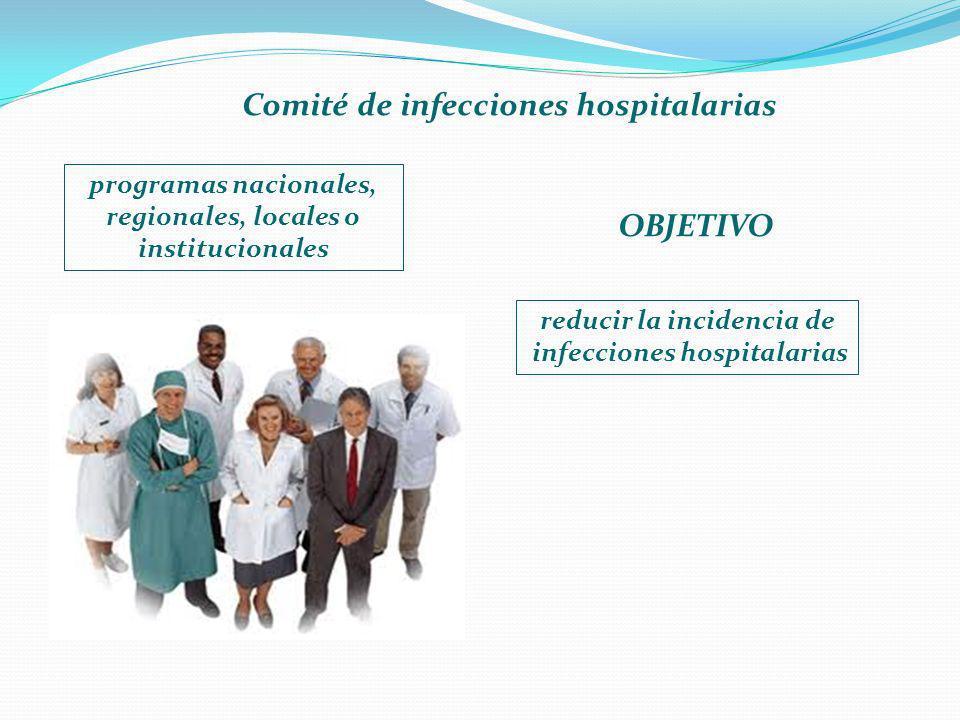 Comité de infecciones hospitalarias