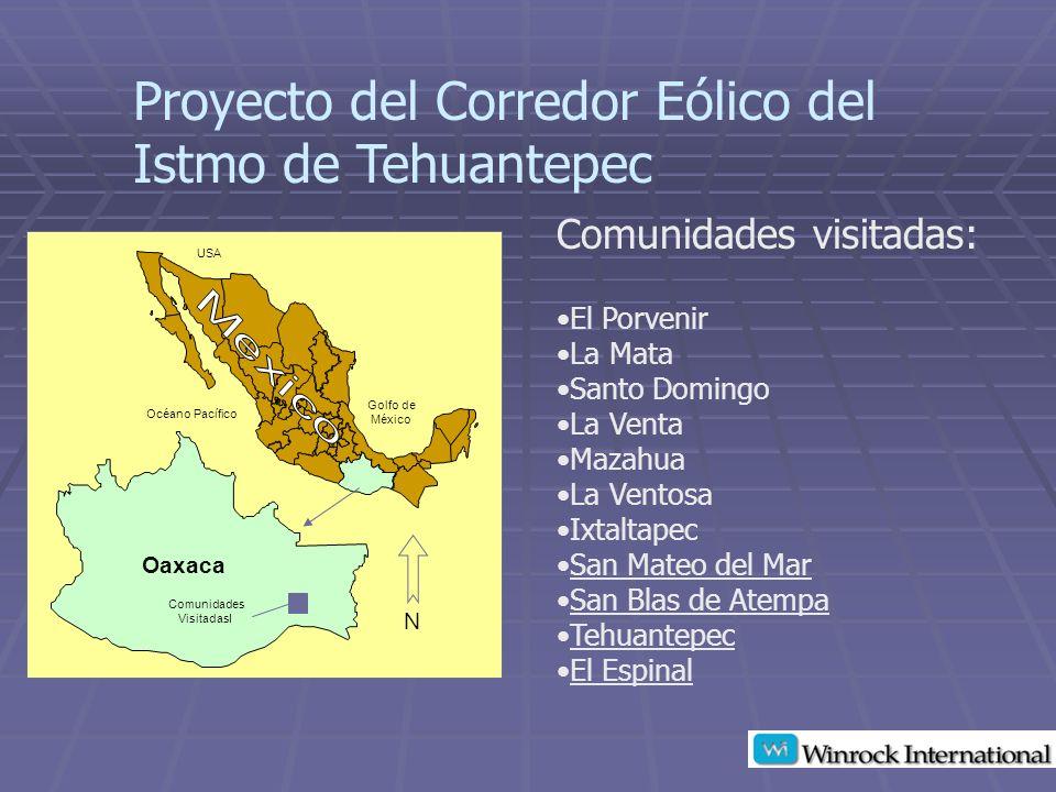 Proyecto del Corredor Eólico del Istmo de Tehuantepec