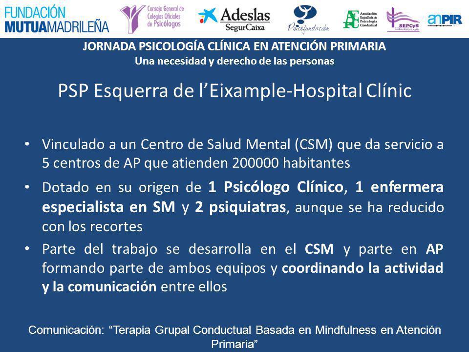 PSP Esquerra de l'Eixample-Hospital Clínic