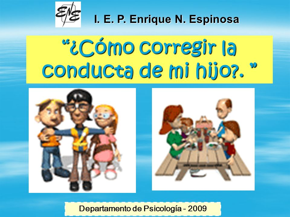 Departamento de Psicología - 2009