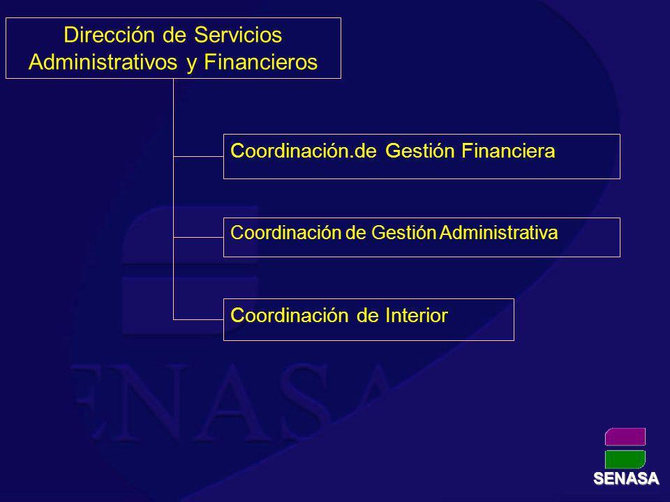 Dirección de Servicios Administrativos y Financieros