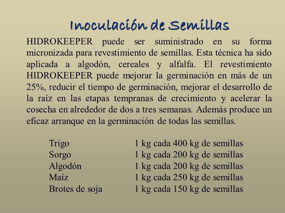 Inoculación de Semillas