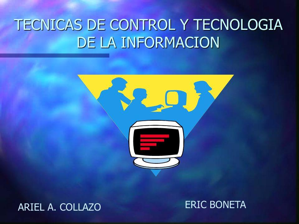 TECNICAS DE CONTROL Y TECNOLOGIA DE LA INFORMACION