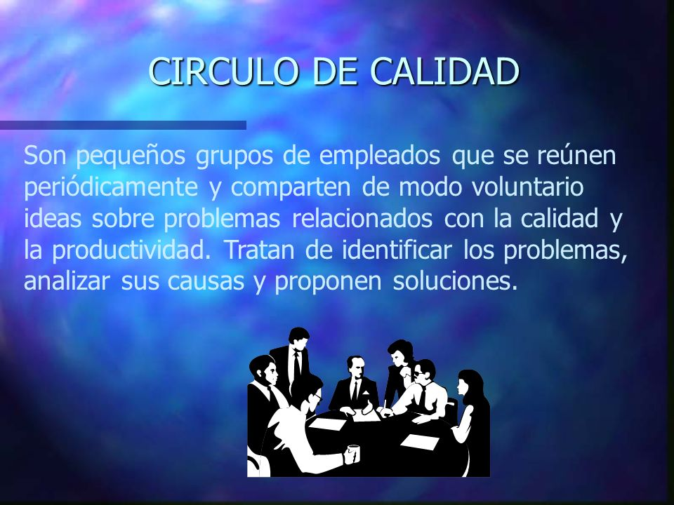 CIRCULO DE CALIDAD