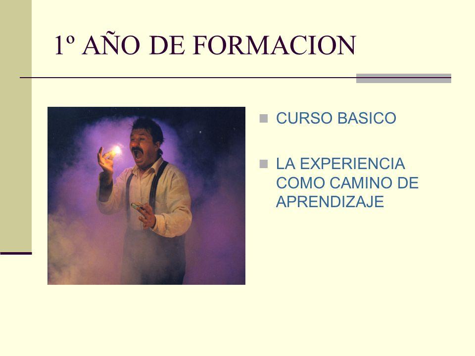 1º AÑO DE FORMACION CURSO BASICO
