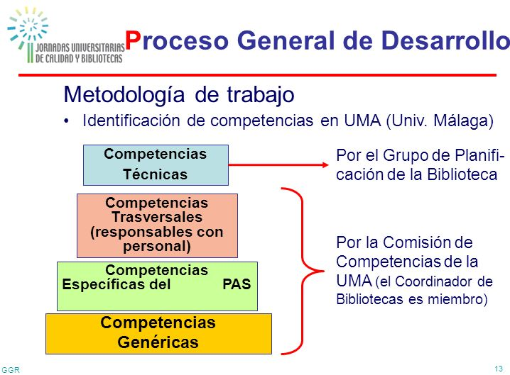 Proceso General de Desarrollo