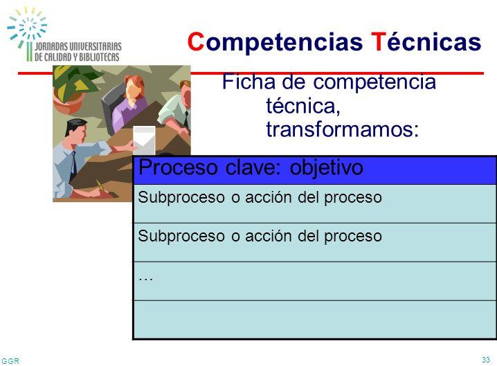 Competencias Técnicas