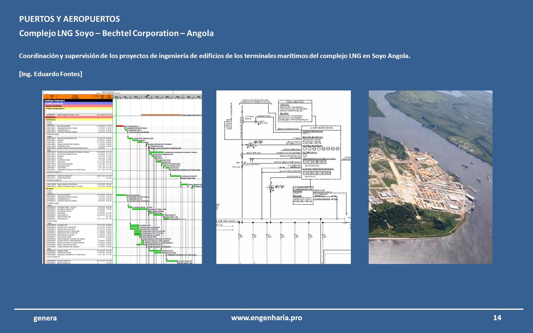Complejo LNG Soyo – Bechtel Corporation – Angola