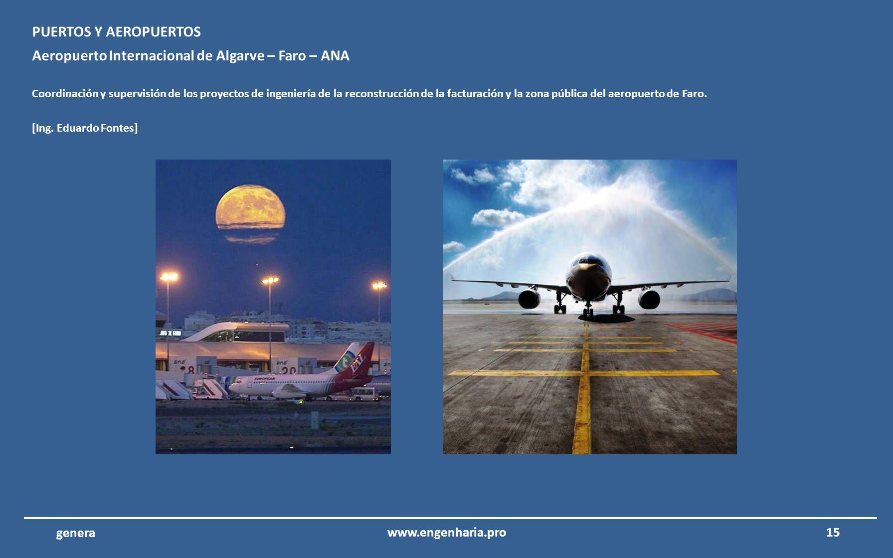 Aeropuerto Internacional de Algarve – Faro – ANA
