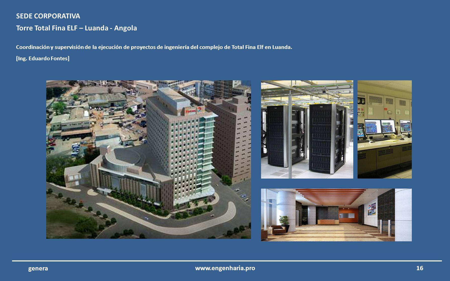 Torre Total Fina ELF – Luanda - Angola