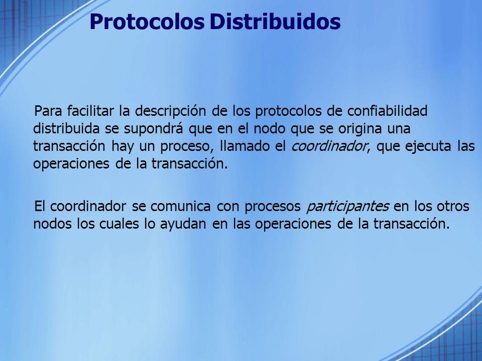 Protocolos Distribuidos