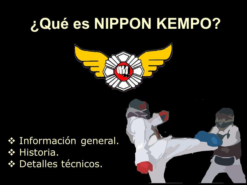 ¿Qué es NIPPON KEMPO Información general. Historia.