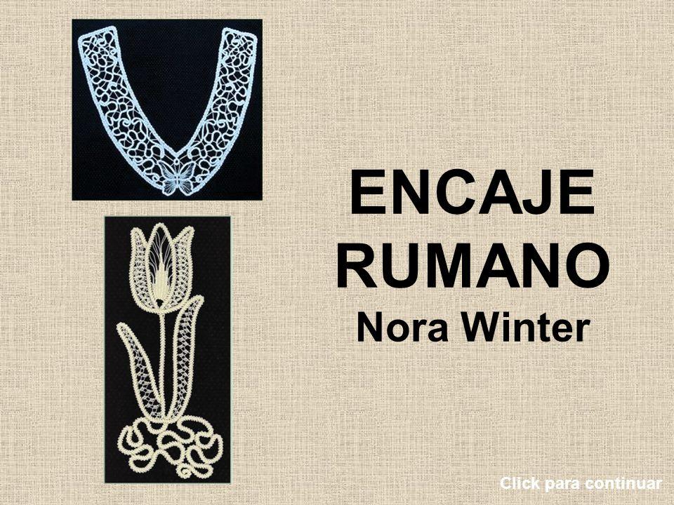 ENCAJE RUMANO Nora Winter