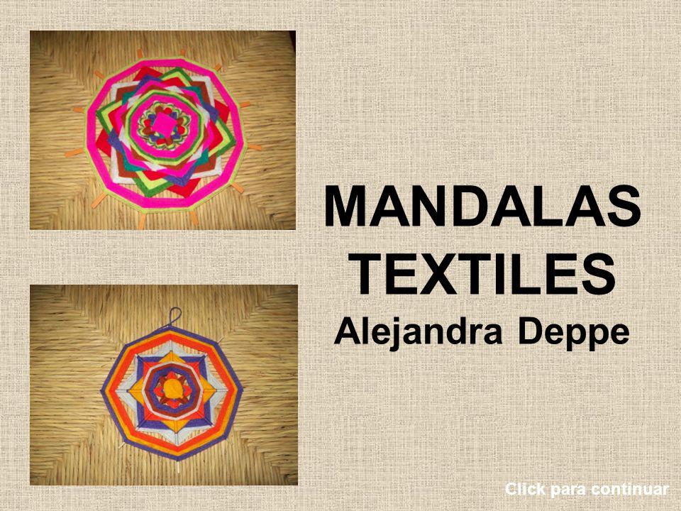 MANDALAS TEXTILES Alejandra Deppe