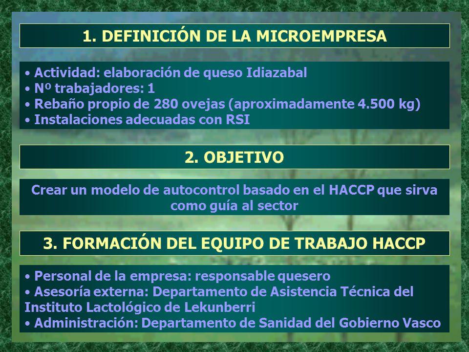 1. DEFINICIÓN DE LA MICROEMPRESA