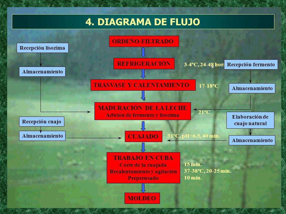 4. DIAGRAMA DE FLUJO ORDEÑO-FILTRADO REFRIGERACIÓN