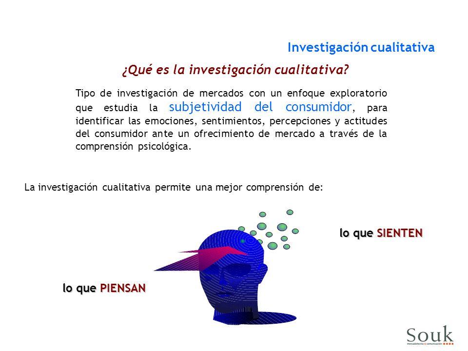 La investigación cualitativa permite una mejor comprensión de: