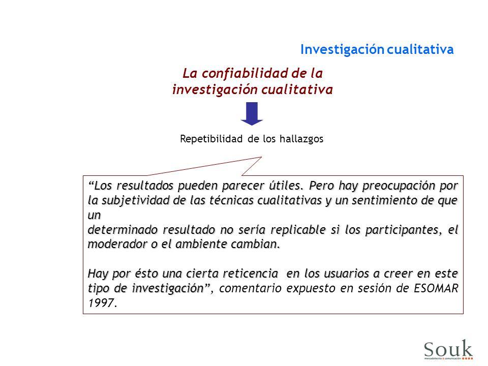 La confiabilidad de la investigación cualitativa