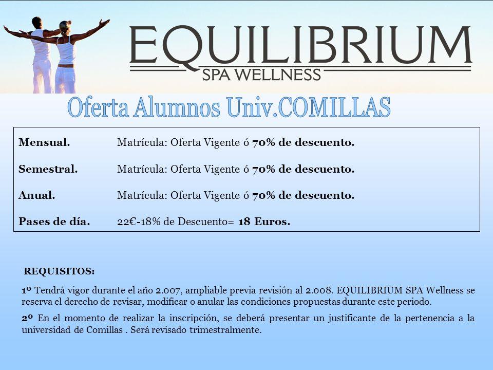 Oferta Alumnos Univ.COMILLAS