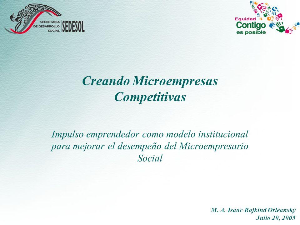 Creando Microempresas Competitivas
