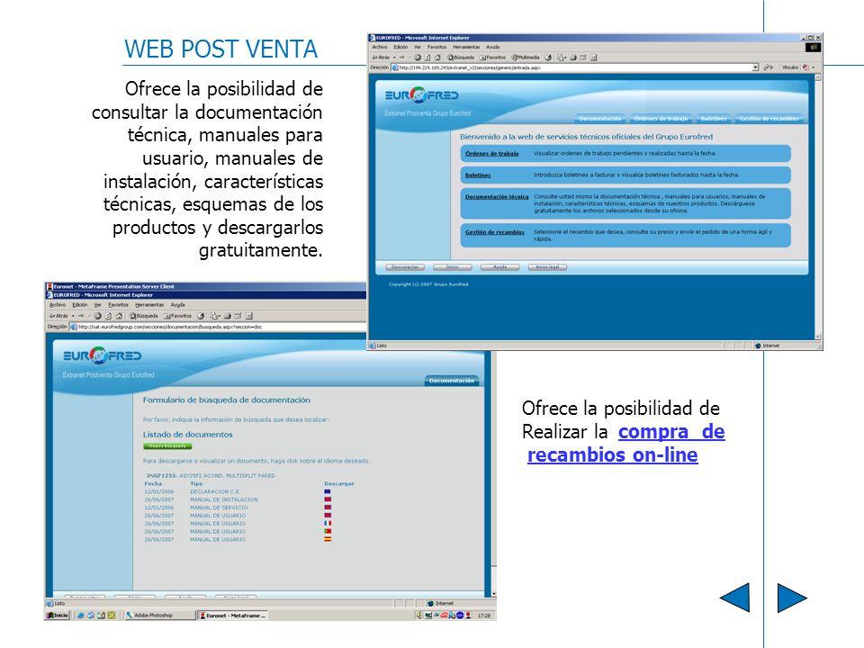 WEB POST VENTA